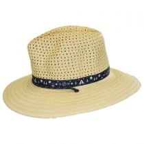 Bella Falls Toyo Straw Lifeguard Hat in