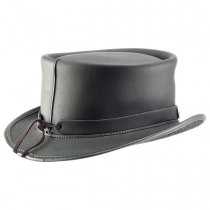 El Dorado Leather Top Hat in