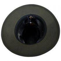 Cotton Oilcloth Safari Fedora Hat in