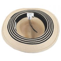 Rope Band Toyo Straw Fedora Hat in