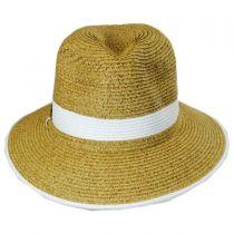 Nantucket Toyo Straw Fedora Hat alternate view 2