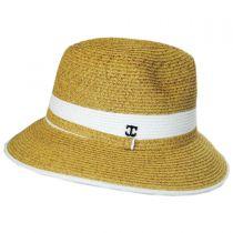 Nantucket Toyo Straw Fedora Hat alternate view 3