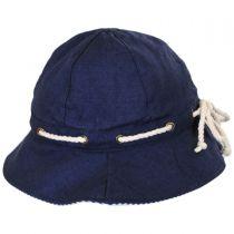 Marina Cotton Cloche Hat in
