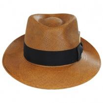 Tessier Panama Straw Fedora Hat alternate view 2