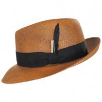 Tessier Panama Straw Fedora Hat alternate view 3