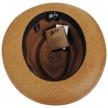 Tessier Panama Straw Fedora Hat alternate view 4