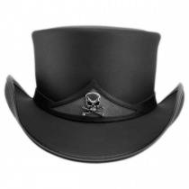 Pale Rider Leather Top Hat alternate view 2