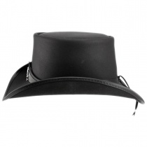 Pale Rider Leather Top Hat alternate view 3