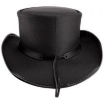 Pale Rider Leather Top Hat alternate view 4