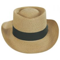 Pin Seeker Hemp Straw Gambler Hat in