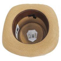 Pin Seeker Hemp Straw Gambler Hat in