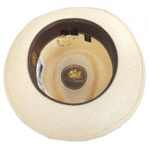 Romeo Panama Straw Fedora Hat in