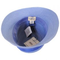Fine Braid Toyo Straw Cloche Hat in