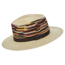 Tasmin Panama Straw Fedora Hat alternate view 3