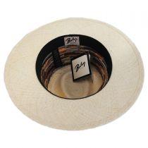 Tasmin Panama Straw Fedora Hat alternate view 4