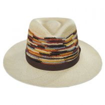 Tasmin Panama Straw Fedora Hat alternate view 18