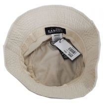 Washed Cotton Bucket Hat in