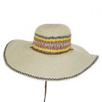 Palapa Toyo Straw Beach Hat in