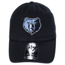 Memphis Grizzlies NBA Clean Up Strapback Baseball Cap Dad Hat in