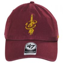 Cleveland Cavaliers NBA Clean Up Strapback Baseball Cap Dad Hat II in
