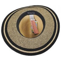 Porto Toyo Straw Wide Brim Fedora Hat in