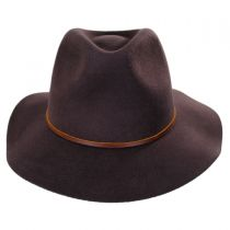 Wesley Wool Felt Floppy Fedora Hat in