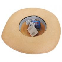 Madeline Panama Straw Swinger Hat in