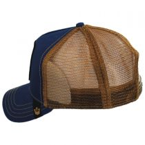 Big Horn Mesh Trucker Snapback Baseball Cap alternate view 3