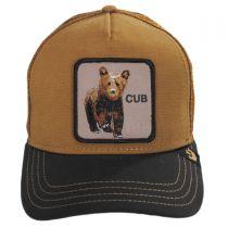 Cub Mesh Trucker Snapback Baseball Cap in