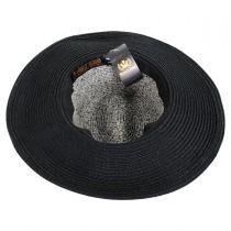 Mamacita Straw Wide Brim Fedora Hat in