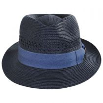 Boogie Vent Toyo Straw Fedora Hat alternate view 2