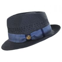 Boogie Vent Toyo Straw Fedora Hat alternate view 7
