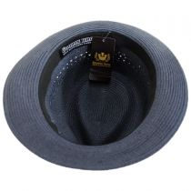 Boogie Vent Toyo Straw Fedora Hat alternate view 12