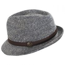 Laying Low Hemp and Cotton Fedora Hat alternate view 3