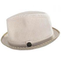 Mind Seeker Fabric Trilby Fedora Hat in