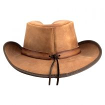 Comstock Leather Western Hat in