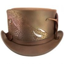 Draco Leather Top Hat alternate view 7