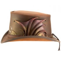 Draco Leather Top Hat alternate view 8
