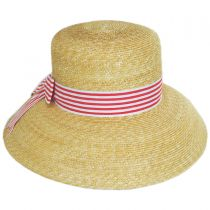 Auguste Straw Lampshade Hat in