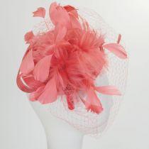 Carnivale Straw Fascinator Headband in