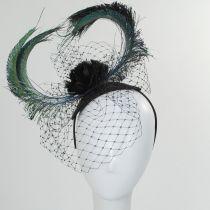Cabaret Straw Fascinator Headband in