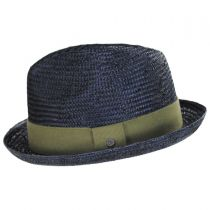Essential Sisal Straw Trilby Fedora Hat in