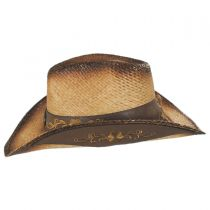 Wildflower Aged Straw Western Hat alternate view 7
