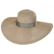 Resort Straw Swinger Wide Brim Hat alternate view 6