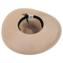 Resort Straw Swinger Wide Brim Hat alternate view 8