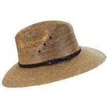 Palm Leaf Straw Aussie Hat in
