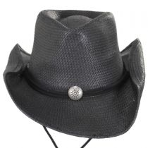 Chincord Toyo Straw Western Hat in