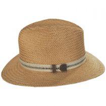 Kilgore Raindura Toyo Straw Fedora Hat alternate view 3