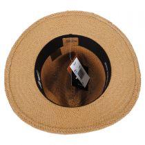 Kilgore Raindura Toyo Straw Fedora Hat alternate view 4