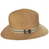 Kilgore Raindura Toyo Straw Fedora Hat alternate view 15